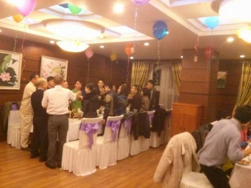 Tiệc cuối năm công ty Konya Paper tổ chức tại Camela Hotel trong không gian đầm ấm và tràn đầy niềm vui
